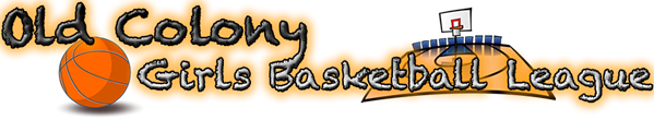 Old Colony Girls Basketball League Logo